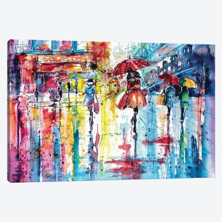 Colorful Autumn Canvas Print #AKV16} by Anna Brigitta Kovacs Canvas Art