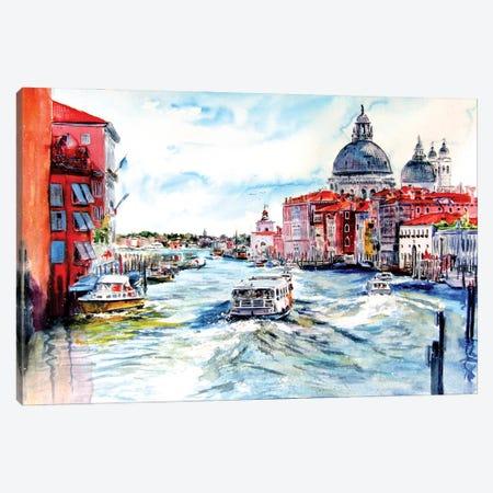 Venice Canvas Print #AKV194} by Anna Brigitta Kovacs Canvas Print