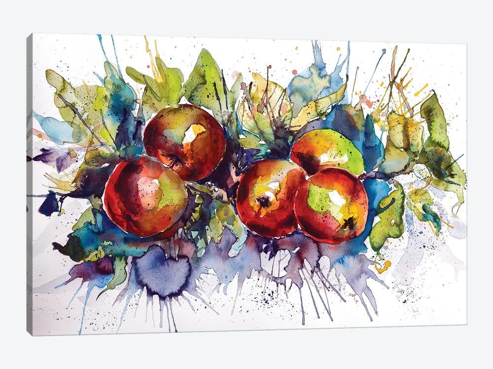 Apples II by Anna Brigitta Kovacs 1-piece Canvas Print
