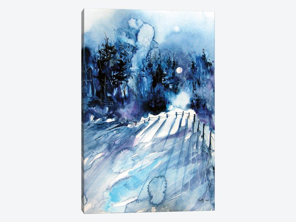 Winter Lights by Anna Brigitta Kovacs 1-piece Canvas Art