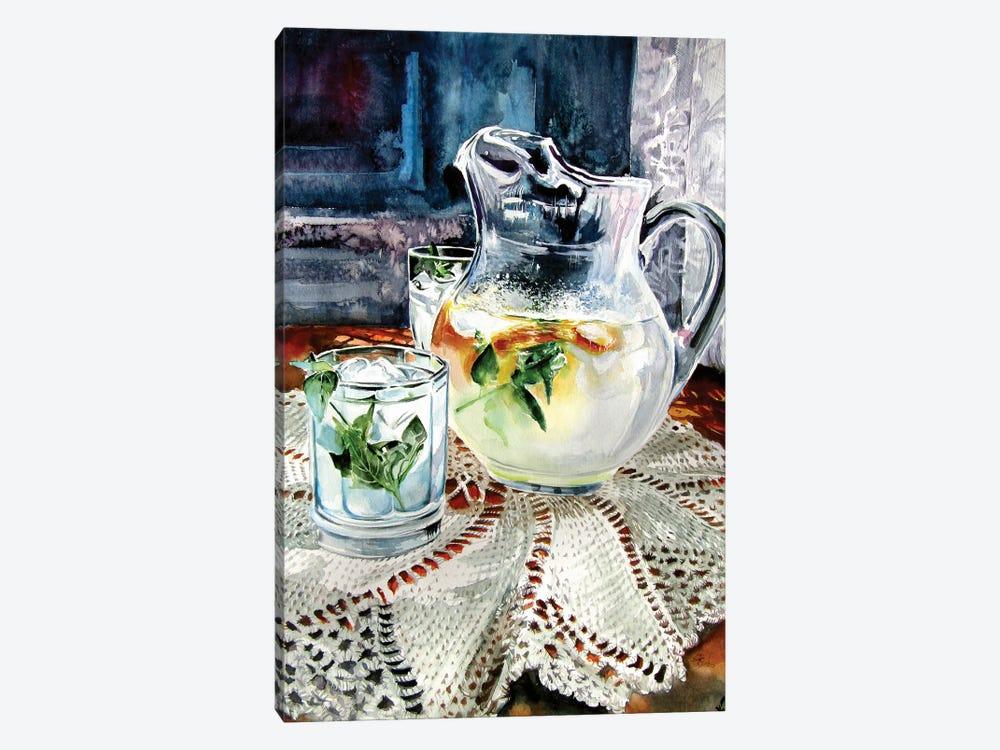 Still Life With Lime Juice by Anna Brigitta Kovacs 1-piece Art Print