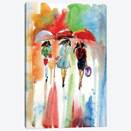 Girls Canvas Print #AKV241} by Anna Brigitta Kovacs Canvas Wall Art
