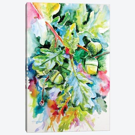 Oak After Rain Canvas Print #AKV276} by Anna Brigitta Kovacs Canvas Wall Art