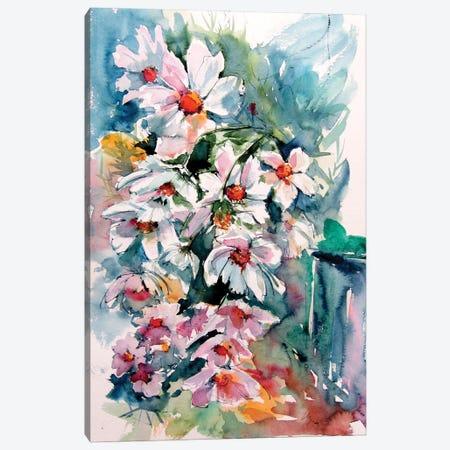 Windflowers In My Garden Canvas Print #AKV279} by Anna Brigitta Kovacs Canvas Print