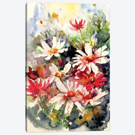 Windflowers In My Garden II Canvas Print #AKV286} by Anna Brigitta Kovacs Art Print