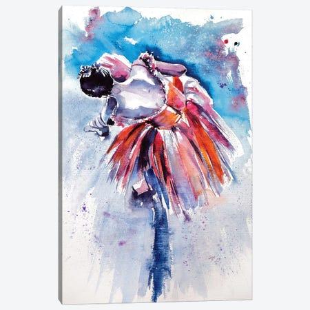 Ballerina Canvas Print #AKV2} by Anna Brigitta Kovacs Canvas Wall Art