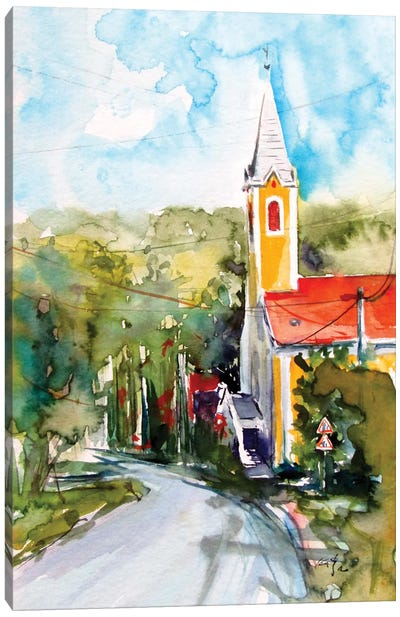 Small Village My Home II Canvas Art Print