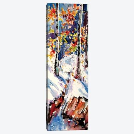 Winter Impression Canvas Print #AKV304} by Anna Brigitta Kovacs Canvas Art