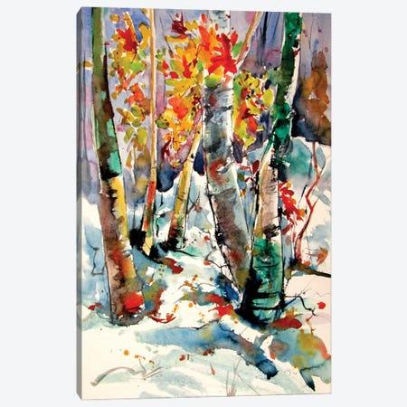 Winter Impression II Canvas Print #AKV305} by Anna Brigitta Kovacs Canvas Wall Art