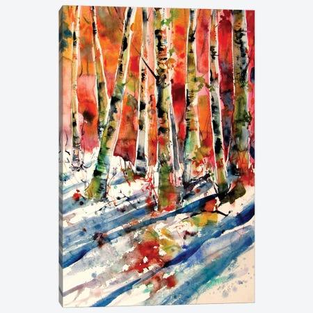 Winter Impression III Canvas Print #AKV306} by Anna Brigitta Kovacs Canvas Wall Art
