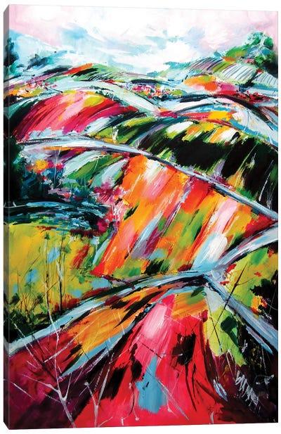 Summer Landscape Canvas Art Print