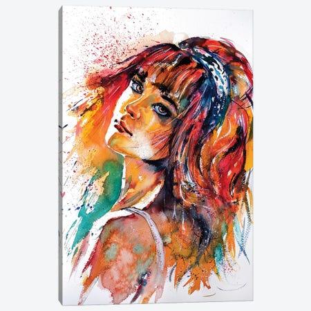 Lovely Girl III Canvas Print #AKV47} by Anna Brigitta Kovacs Canvas Print