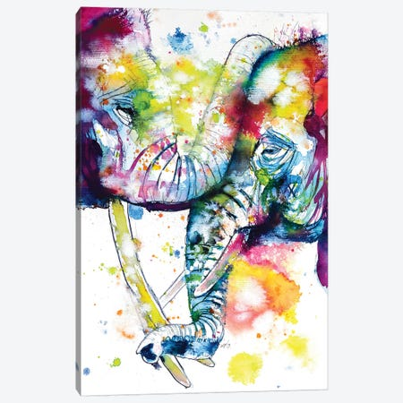 Loving Touch Canvas Print #AKV49} by Anna Brigitta Kovacs Canvas Art