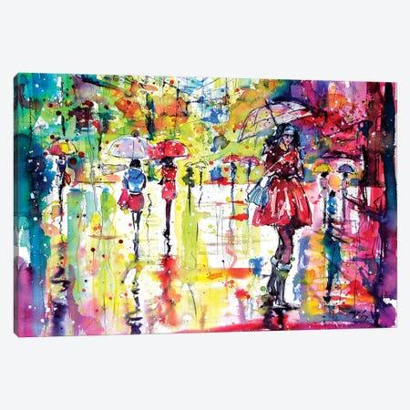 Message Canvas Print #AKV55} by Anna Brigitta Kovacs Canvas Art