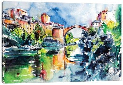 Mostar Bridge Canvas Art Print