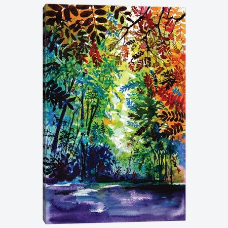 Beautiful Autumn Canvas Print #AKV6} by Anna Brigitta Kovacs Art Print