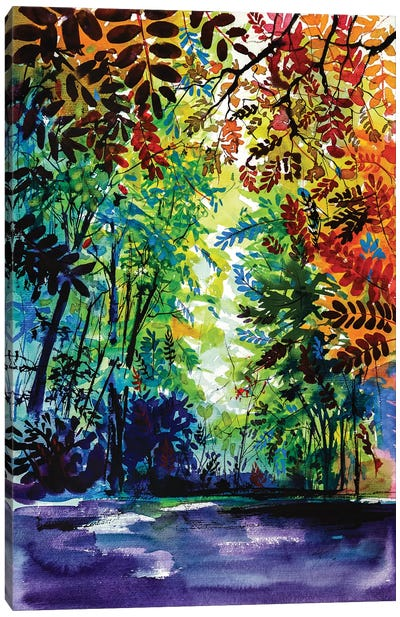Beautiful Autumn Canvas Art Print