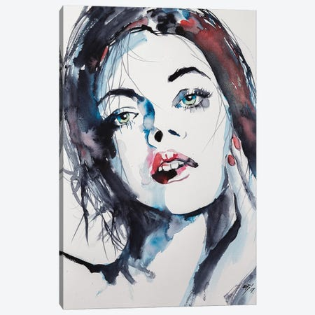 Thinking Of You Canvas Print #AKV85} by Anna Brigitta Kovacs Canvas Art Print
