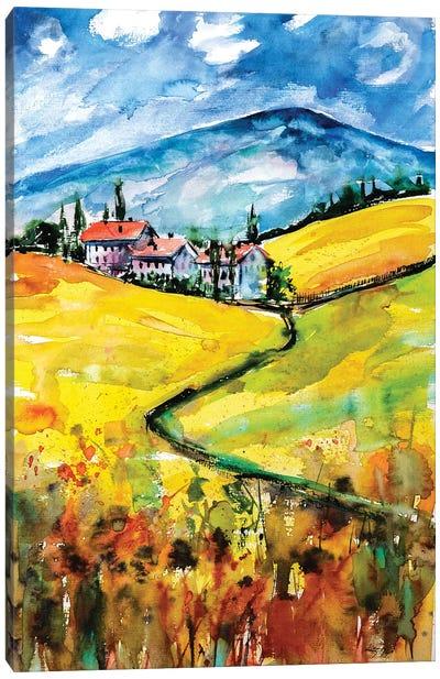 Toscana Canvas Art Print