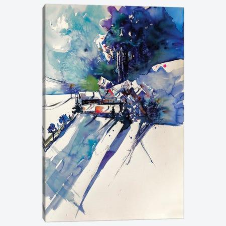 Wintertime Canvas Print #AKV96} by Anna Brigitta Kovacs Canvas Art