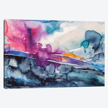 Wintertime Landscape III Canvas Print #AKV99} by Anna Brigitta Kovacs Art Print