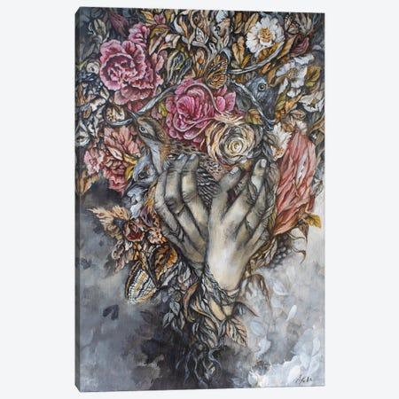 The Healer Canvas Print #AKW18} by AK Westerman Canvas Art