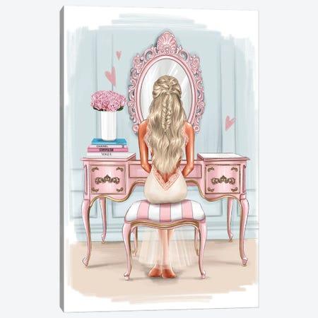 Beautiful Morning (Blonde Girl) Canvas Print #AKY26} by Anastasia Kosyanova Canvas Wall Art