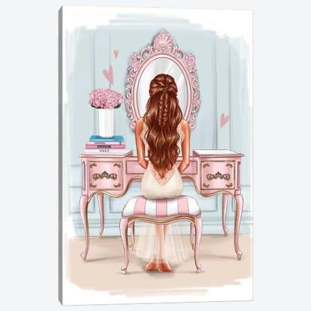Beautiful Morning (Redhead Girl) Canvas Print #AKY27} by Anastasia Kosyanova Canvas Art