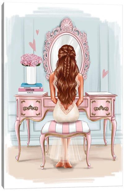 Beautiful Morning (Redhead Girl) Canvas Art Print