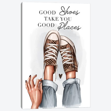 Sneakers Canvas Print #AKY29} by Anastasia Kosyanova Canvas Print