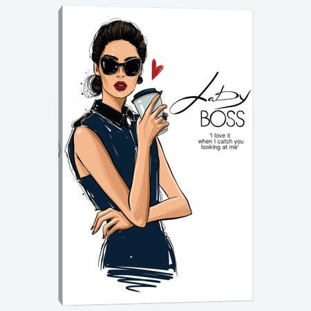 Lady Boss Canvas Print #AKY65} by Anastasia Kosyanova Canvas Wall Art