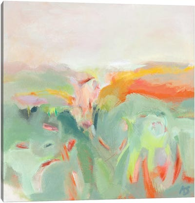 Confetti Fields Canvas Art Print