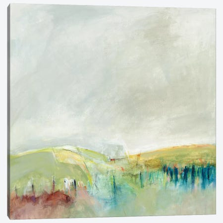 Marking Out The Morning Canvas Print #ALC3} by Alice Sheridan Art Print