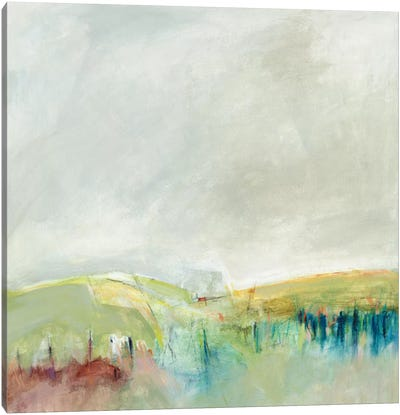 Marking Out The Morning Canvas Art Print