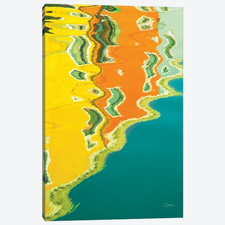 Reflections Of Burano II Canvas Print #ALD11} by Aledanda Canvas Art