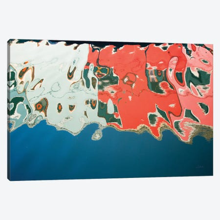 Reflections Of Burano IV Canvas Print #ALD12} by Aledanda Canvas Artwork