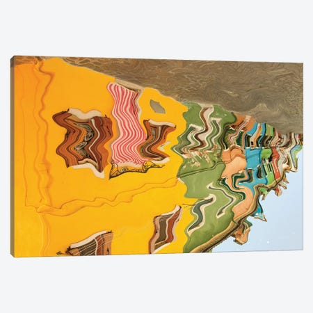 Reflections Of Burano VI Canvas Print #ALD13} by Aledanda Canvas Artwork