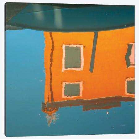 Reflections Of Burano VII Canvas Print #ALD14} by Aledanda Canvas Print