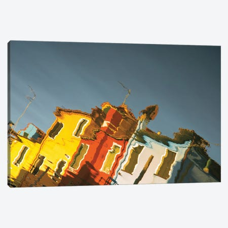 Reflections Of Burano XI Canvas Print #ALD17} by Aledanda Canvas Art Print