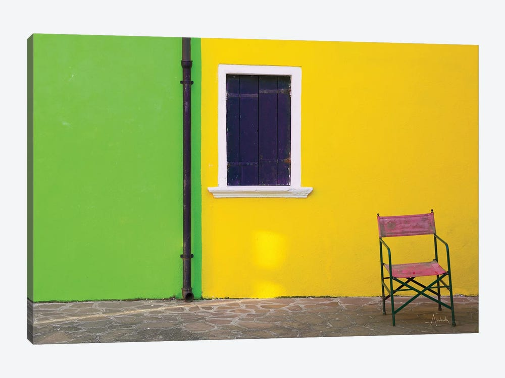 Windows Of Burano II 1-piece Canvas Wall Art
