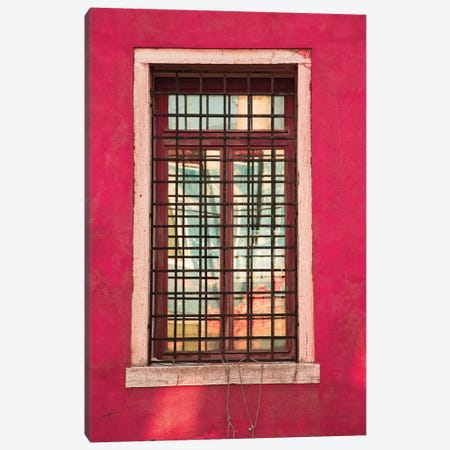 Windows Of Burano III Canvas Print #ALD20} by Aledanda Canvas Print