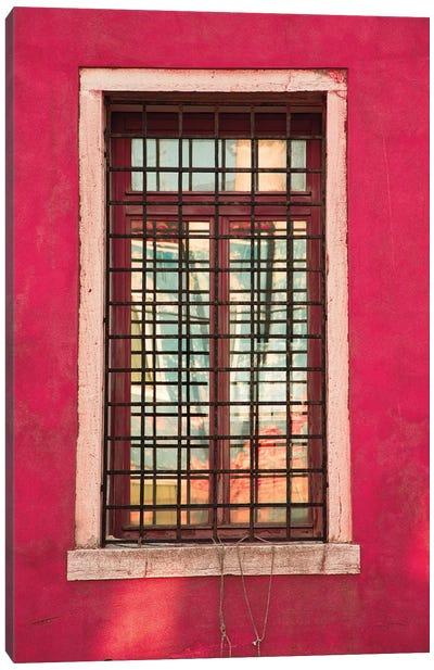 Windows Of Burano III Canvas Art Print