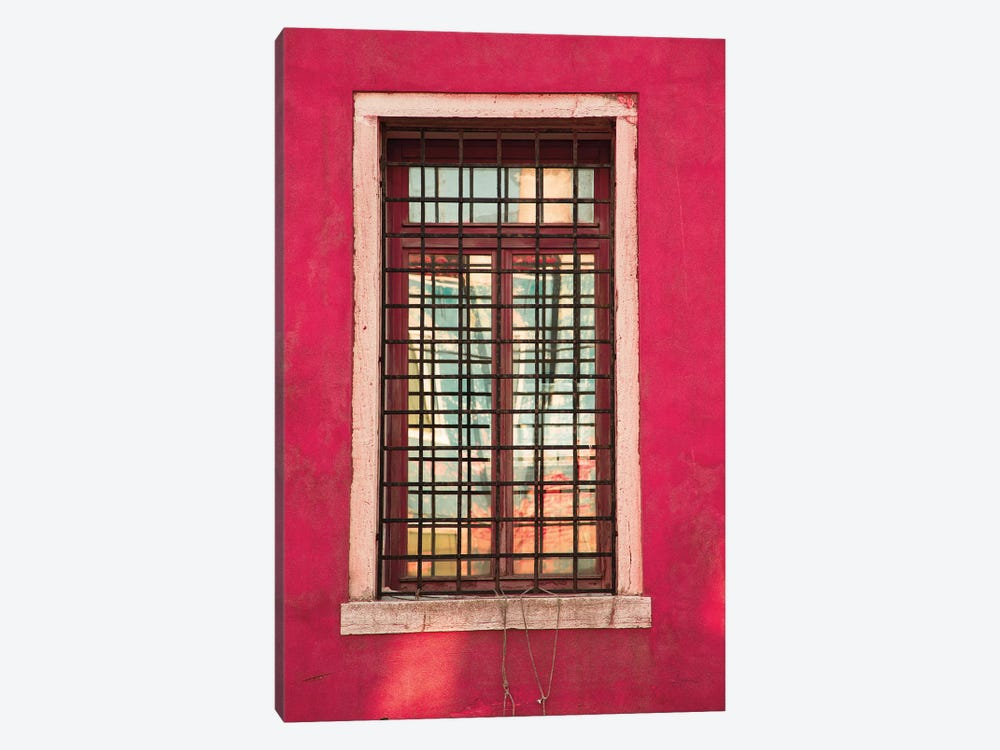 Windows Of Burano III by Aledanda 1-piece Canvas Art