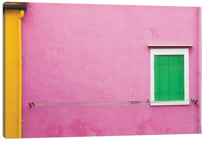 Windows Of Burano V Canvas Art Print