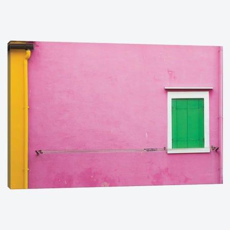 Windows Of Burano V Canvas Print #ALD22} by Aledanda Canvas Art Print