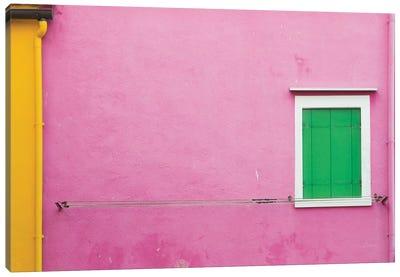Windows Of Burano V Canvas Art Print