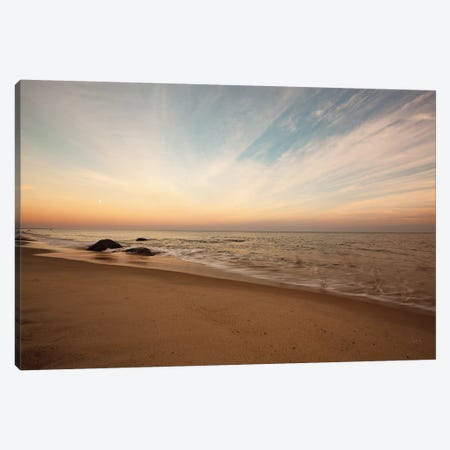 Marthas Vineyard Beach II Canvas Print #ALD32} by Aledanda Canvas Artwork