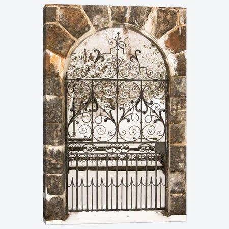 Winterthur Gate 3-Piece Canvas #ALD39} by Aledanda Canvas Art
