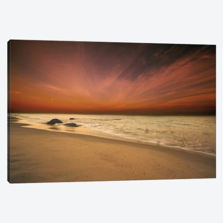 Marthas Vineyard Beach III Canvas Print #ALD40} by Aledanda Canvas Art Print