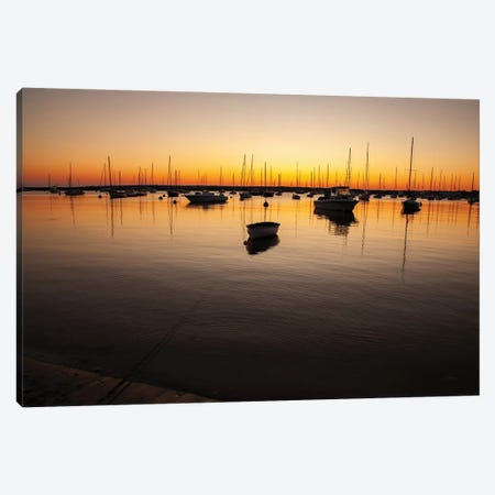 Marthas Vineyard Sunset II Canvas Print #ALD41} by Aledanda Canvas Print